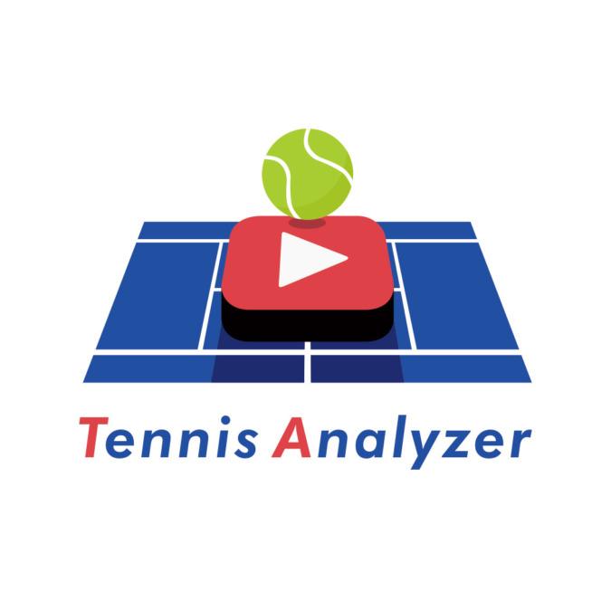 テニスアナライザーロゴ動画